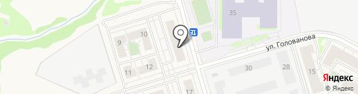 Корзина на карте Истры