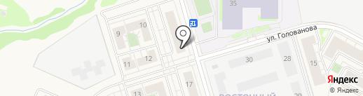 Умка на карте Истры