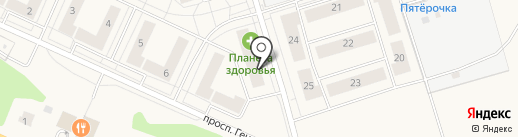 Импульс на карте Истры