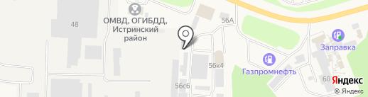 СтройРайон на карте Истры