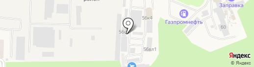 Магазин сайдинга на карте Истры