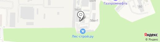 Магазин сухих строительных смесей на карте Истры