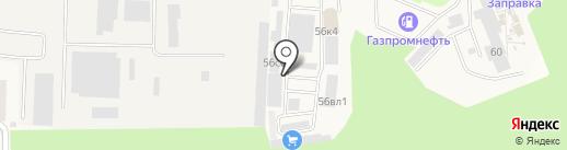 Восьмой шар на карте Истры