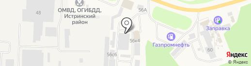 PlastCom на карте Истры