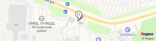 Гранд Истра на карте Истры