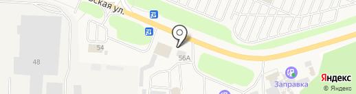 А2 на карте Истры