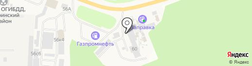 Карс на карте Истры