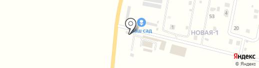 Шиномонтажная мастерская на карте Курилово