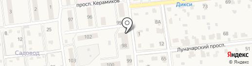 Мастерская по ремонту одежды и изготовлению ключей на карте Голицыно