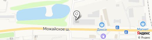 Мираторг на карте Больших Вязёмов