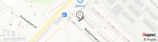 У дома на карте Калининца