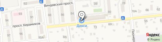Дикси на карте Голицыно