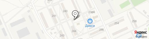 Магазин продуктов на карте Калининца