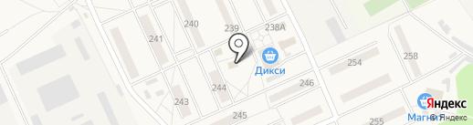 Ультра на карте Калининца