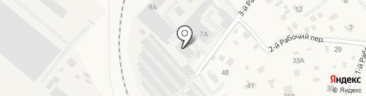 КАРБОГЛАСС на карте Голицыно