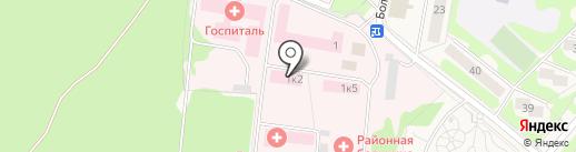 Селятинская районная больница на карте Селятино