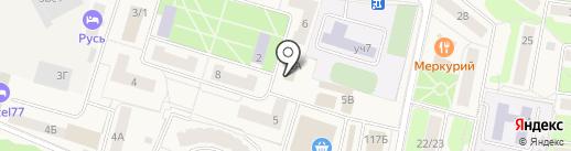Участковый пункт полиции на карте Селятино