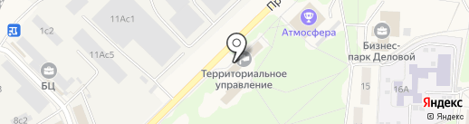 Ф.С.В. на карте Селятино