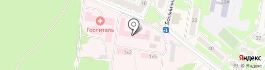 Поликлиника на карте Селятино