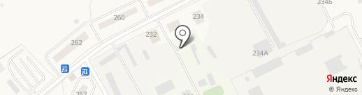 Калининец, МБУ на карте Калининца