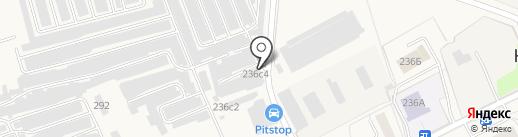 Автомойка на карте Калининца