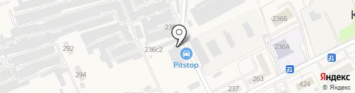Магазин автозапчастей на карте Калининца