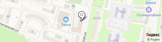 Магазин канцелярских товаров на карте Селятино
