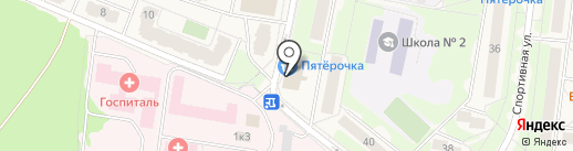 Платежный терминал на карте Селятино