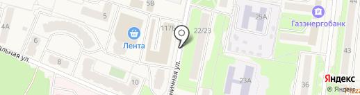 Селятинская городская похоронная служба на карте Селятино