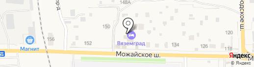 ВяземГрад на карте Больших Вязёмов