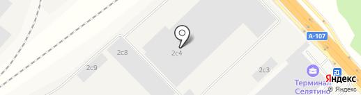 Гидромонтаж на карте Селятино