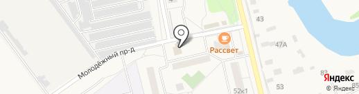Матрёшка на карте Голицыно