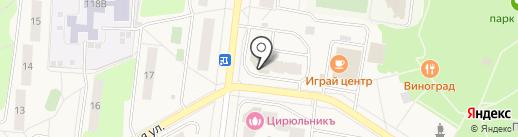 Елена на карте Селятино