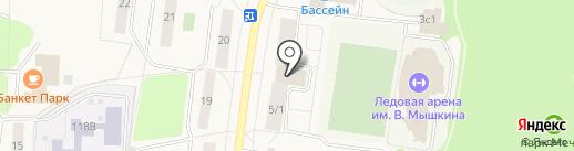 Фотоцентр на Спортивной на карте Селятино