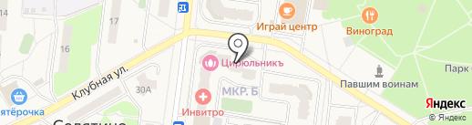 Стиль на карте Селятино