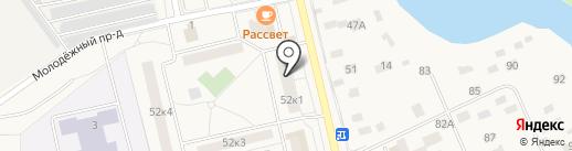 Голицынская поликлиника на карте Голицыно