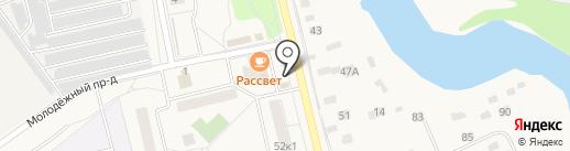 Луковка на карте Голицыно