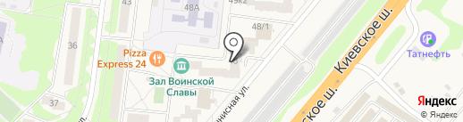Зал Воинской Славы на карте Селятино