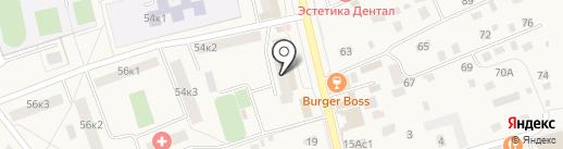 Ателье на Советской на карте Голицыно