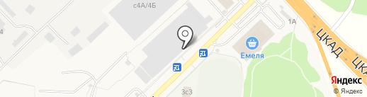 Стар-Дизель на карте Селятино