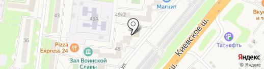 Айка на карте Селятино