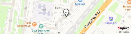 Маргарита на карте Селятино