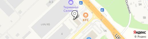 Эльдорадо на карте Селятино