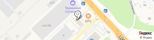 Селятино-Сити на карте Селятино
