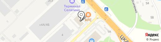 QIWI Post на карте Селятино
