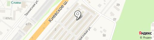 Руфос на карте Селятино