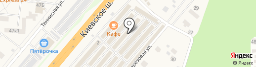 Электро-Экспресс на карте Селятино