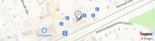 Мацури на карте Голицыно
