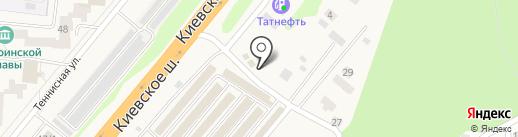Торгово-производственная компания на карте Селятино