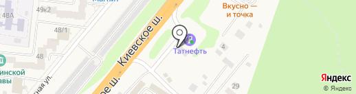 АЗС Татнефть на карте Селятино